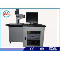 Buy cheap Air Cooling Stainless Steel / Ceramic / Fiber Laser Marking Machine For Iphone 6 Case from wholesalers