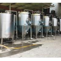 Quality 100L-5000L Stainless Steel Beer Conical Fermenter Fermentation Tanks 1000L Stainless Steel Beer Fermentation Tank for sale
