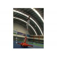 Buy cheap Simple Self Propelled Elevating Work Platforms 1 - 20 m Lift Height For Installation from wholesalers