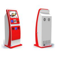 Buy cheap Touch Screen Ticket Vending Kiosk Standing , Automatic Card Vending Machine from wholesalers