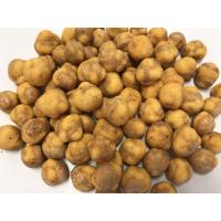 Buy cheap BBQ Flavor Coated Roasted Chickpeas Snack , Spicy Dried Chickpeas Low Calorie from wholesalers
