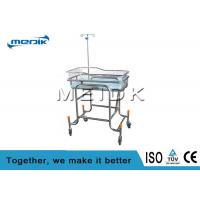 Buy cheap Medical Nursing Baby Bassinet Transparent Acrylic Infant Bed SS Structure from wholesalers