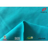 Buy cheap Anti uv blue colour swim fabric 80 nylon 20 spandex fabric for swimwear from wholesalers