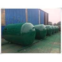 Buy cheap Horizontal Air Receiver Tanks For Compressors , Stainless Steel Pressure Vessel product