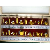 Buy cheap TC-024B Yellow Colour 6mm Shank 24PCS TCT Router Bit Set For Hand Hold Router Machine from wholesalers