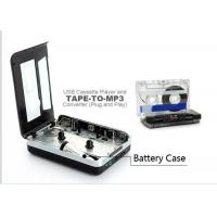 Buy cheap Digital Audio Capture Cassette Tape Converter , USB Cassette Player Retro Style from wholesalers