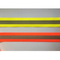 100% Polyester High Visibility Silver reflective tapes for Safety Vests / clothing