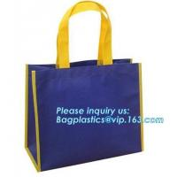 Buy cheap Good Quality Stocklot Recyclable PP Grocery Bag For Shopping custom print pp non woven bag folding non woven bag, bageas from wholesalers