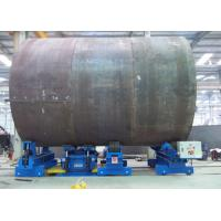 Buy cheap Universal Adjust Hydraulic Fit Up Turning Rolls With Low Noise For Tower Production Line from wholesalers