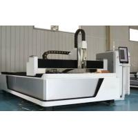 Buy cheap 500W Metal CNC Fiber Laser Cutting Machine With Ipg / Maxphotonics Laser Source from wholesalers