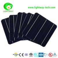 Buy cheap 156x156 21.2% high efficiency monocrystalline silicon solar cell made in Taiwan from wholesalers