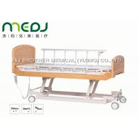 Buy cheap Semi Fowler Electric Hospital Bed MJSD04-09 Nursing Bed With Wood Board from wholesalers