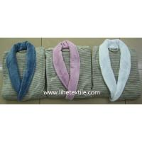 Buy cheap bathrobe , bath shirt , yellow , blue , white color , 100% cotton from wholesalers