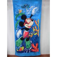 Buy cheap cheap Beach towel 75*150 cotton terry towels in bulk from wholesalers