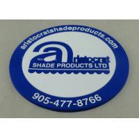 Buy cheap Business 2D EVA / Rubber / PVC Coaster Round Shape Dia 7 - 9cm from wholesalers