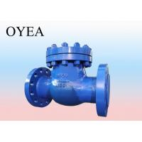 Buy cheap ANSI API GB A216 Cast Steel Forged Steel Stainless Steel Flanged Weld Swing Lift  Check Valve from wholesalers
