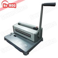 Buy cheap 3 Years warranty desktop Manual perfect spiral binding machine for 46 loops coil from wholesalers