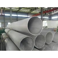 Buy cheap 830MM Heavy Wall Stainless Steel Seamless Pipe For Oil , Gas Transportation from wholesalers