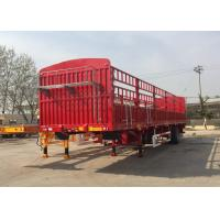China Carbon Steel Semi Truck And Trailer Big Truck Trailer 28T JOST on sale