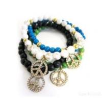 Buy cheap Hf-60177 Fashional Beads With Charm Bracelet from wholesalers