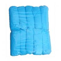 Buy cheap Standard 15*38cm non-woven blue pp  disposable surgical shoe cover,prevent dust and static from wholesalers
