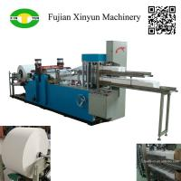 Buy cheap Automatic double decks serviette tissue paper making machine price from wholesalers