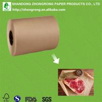 Buy cheap brown butcher paper roll for meat wrapping from wholesalers