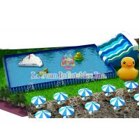 Buy cheap Stainless Steel Custom Swimming Pools Tough Fireproof For Hot Summer from wholesalers