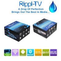 Buy cheap Rippl-TV Android Smart TV Box Quad Core UtilOS Special Edition XBMC 4K2K Internet Media Player from wholesalers