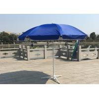Buy cheap Outdoor Promotional Custom Printed Patio Umbrellas With Base , Steel Wire Ribs product