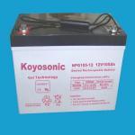 Buy cheap 12V105Ah Sealed Lead Acid/VRLA Industrial Battery With GEL-NPG105-12 from wholesalers