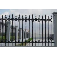 Buy cheap Antique Cast Iron Fence Panels / Pedestrian Safety Barrier Fence For Villa Home from wholesalers