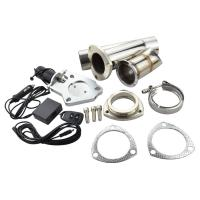 Buy cheap 2.5 Stainless Steel Headers Y pipe Electric Exhaust CutOut Kit with Remote control from wholesalers