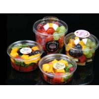 Buy cheap High-Transparent Clear Disposable Salad Bowls , Disposable Plastic Dessert Bowls from wholesalers