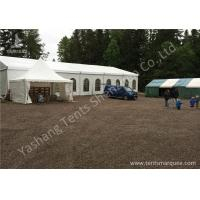 Buy cheap Hard Anodized Aluminium Frame Tents , White waterproof party tents PVC Fabric Cover from wholesalers