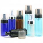 Buy cheap Makeup Remover 4 Oz Pump Bottle , No Leakage Blue / Black Lotion Pump from wholesalers
