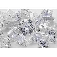 Buy cheap High End Man Made White Diamonds , Artificially Made Diamonds VVS/VS/SI Clarity from wholesalers