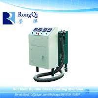 Buy cheap Hot Melt Rubber Machine/Horizontal Double Glass Silicone Coating Machine from wholesalers