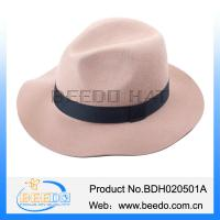 Buy cheap Hot selling wool bailey hats wide brim fedora cuban style hat from wholesalers