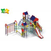 Buy cheap Colorful Wooden Frame Slide SGS Certificated Easy Assembly Anti Crack Creative from wholesalers
