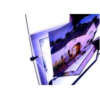 Buy cheap A4 Size Crystal Outdoor Led Light BoxAnti Ultraviolet from wholesalers