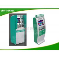 Buy cheap Lobby Type Self Service Check In Kiosk Network Interface Easy Maintenance from wholesalers
