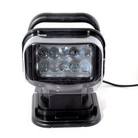 Buy cheap 50W  4000lumens 12DV Cree LED Marine Remote Control Spotlight Offroad Truck Car Boat Search Light from wholesalers