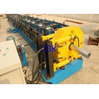 Buy cheap Rain Downspout Roll Forming Machine 5.5Kw 1.2 Inch Chain Drive 6.5×1×1.2 M product