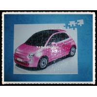 Buy cheap DIY printed sublimation jigsaw puzzle 19*24-110pcs from wholesalers