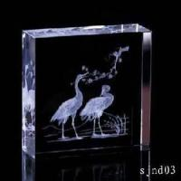 Buy cheap Crystal 3D Laser Engraving Product from wholesalers