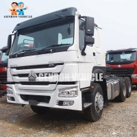 Buy cheap Sinotruck Diesel Fuel 6x4 WD615 Tractor Head Trucks With Sleeper from wholesalers