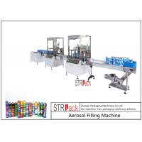 Buy cheap High Capacity automatic Aerosol Filling Machine For PU Foam / Pesticide from wholesalers