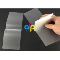 Buy cheap Card Membrane Clear Laminating Film / Pouch Laminating Film with Different Thickness from wholesalers