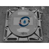 Buy cheap Dctile iron manhole cover 840x840x100mm  EN124  D400   drain cover, sewer cover from wholesalers